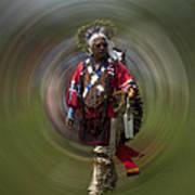 At The Powwow Sault Ste Marie Michigan Art Print