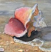 At Water's Edge Art Print