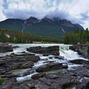 Athabasca Falls #3 Art Print