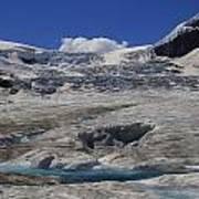 Athabasca Glacier 1 Art Print
