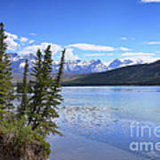 Athabasca River Scenery Art Print