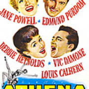Athena, Us Poster, From Top Left Art Print