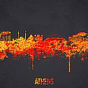 Athens Greece Art Print by Aged Pixel