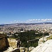 Athens View From Acropol Art Print