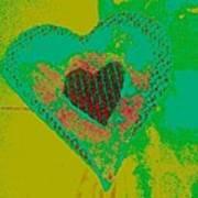 Athlone Heart Art Print by Dorothy Rafferty