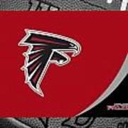 Atlanta Falcons Art Print