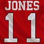 Atlanta Falcons Julio Jones Art Print