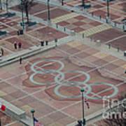 Atlanta Olympia Fountain Art Print