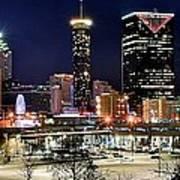 Atlanta Panoramic View Art Print