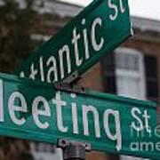 Atlantic And Meeting St Art Print