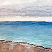Atlantic Beach Fishing Art Print