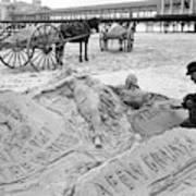 Atlantic City The Sandman Art Print