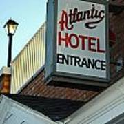 Atlantic Hotel Art Print by Skip Willits
