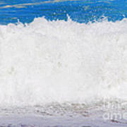 Atlantic Ocean Wave Art Print