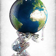 Atlas 3000 Art Print by Frederico Borges