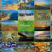 Atmospheric Beaches   Art Print