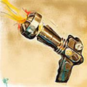 Atomic Blaster Art Print