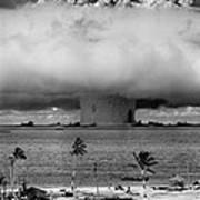 Atomic Bomb Test Art Print