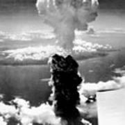 Atomic Burst Over Nagasaki Art Print