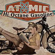 Atomic Gasoline Art Print by Cinema Photography