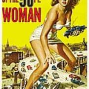 Attack Of The 50 Ft Woman Poster Art Print