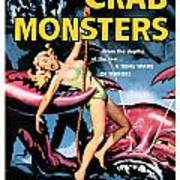 Attack Of The Crab Monster 1957  Art Print