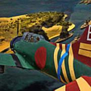 Attack On Battleship Row Art Print