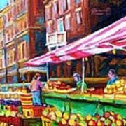 Atwater Market   Art Print