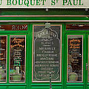 Au Bouquet St. Paul Art Print