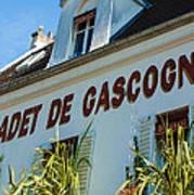 Au Cadet De Gascogne Art Print
