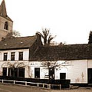 Auberge De La Roseraie Art Print