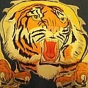 Auburn Tiger Art Print