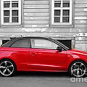 Audi A1 Car Art Print