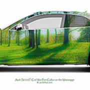 Audi S5 Coupe Mississippi Fort Cobun  Art Print
