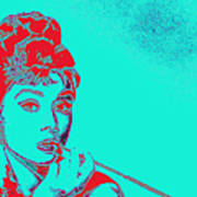 Audrey Hepburn 20130330v2p128 Art Print