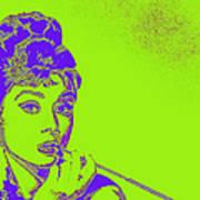 Audrey Hepburn 20130330v2p38 Art Print