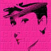 Audrey Hepburn 4 Art Print