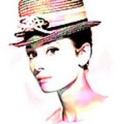 Audrey Hepburn 6 Art Print