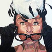 Audrey Hepburn Art Print by Tom Roderick