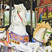 Audubon Carousel Art Print