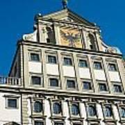 Augsburg Townhall - Rathaus Art Print
