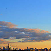 August Early Evening Toronto 4  Art Print