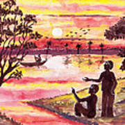 Auld Lang Syne Art Print