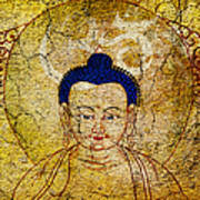Aum Buddha Art Print by Tim Gainey
