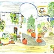 Aunt Helen's Farm Art Print
