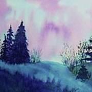 Aurora Borealis I Art Print