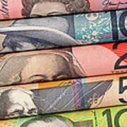 Aussie Dollars 01 Art Print