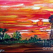 Aussie Mill Art Print