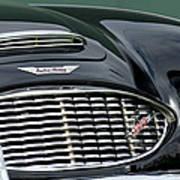 Austin-healey 3000 Grille Emblem Art Print