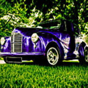 Austin Hot Rod Print by motography aka Phil Clark